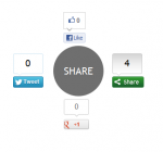 Enhance your Blogging Experience with CSS3 Social Sharing Widget