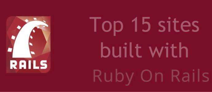 posts famous sites built with ruby rails