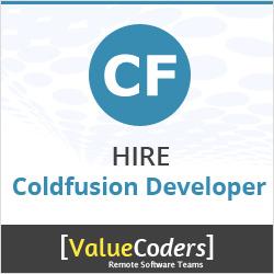 hire coldfusion developer