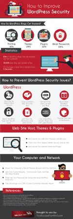 Security Tips For Your WordPress Site [Infographic]