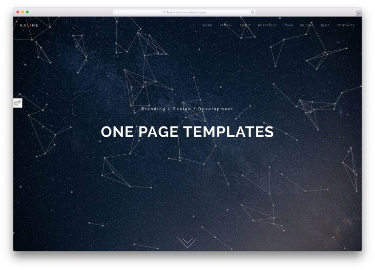 sigle-page-website-templates