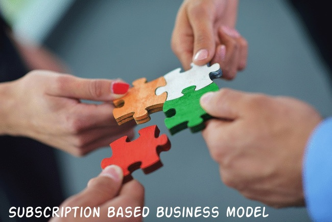 Subscription based business model
