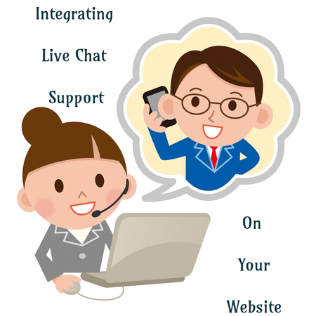 Integrating Live chat support on your website