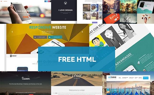 HTML5 templates 2015
