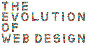Evolution of web design cover