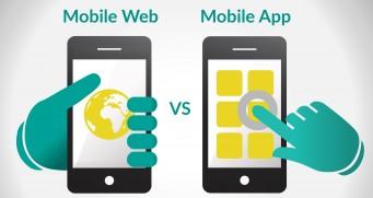 Mobile App vs. Mobile Website [Infographic]