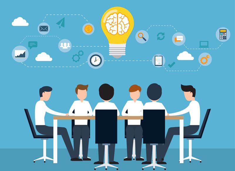 Mobile application development brain storming