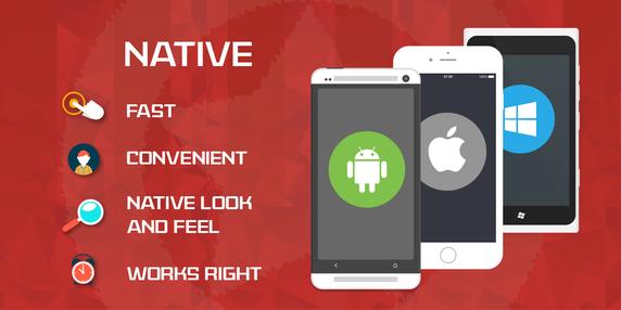 Native app vs hybrid app : native app advantages