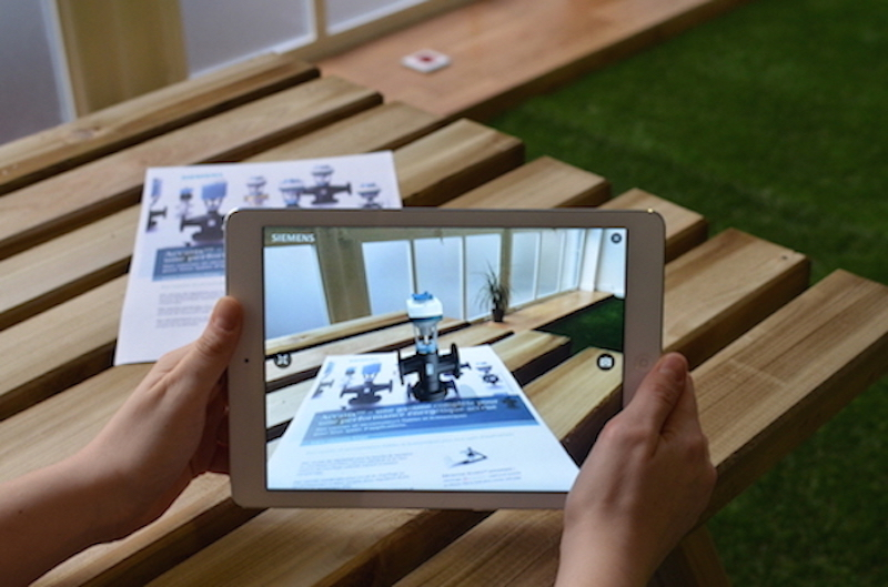 Augmented Reality app siements