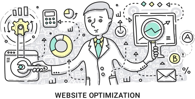 website speed optimization techniques cover page