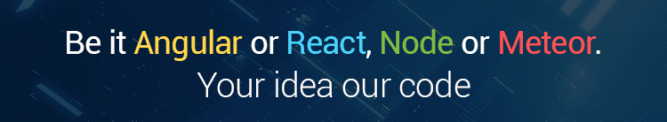 Angular, React