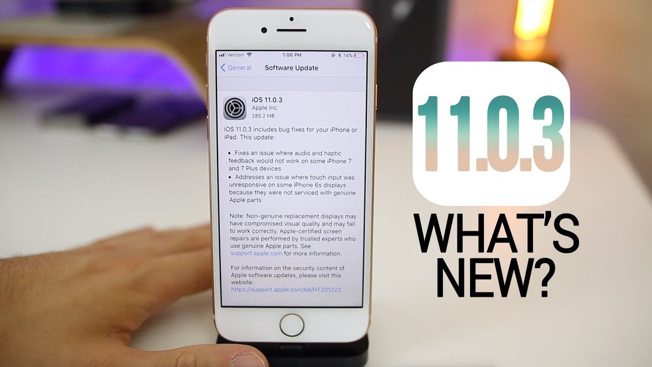 Apple iOS 11.0.3 is out now!