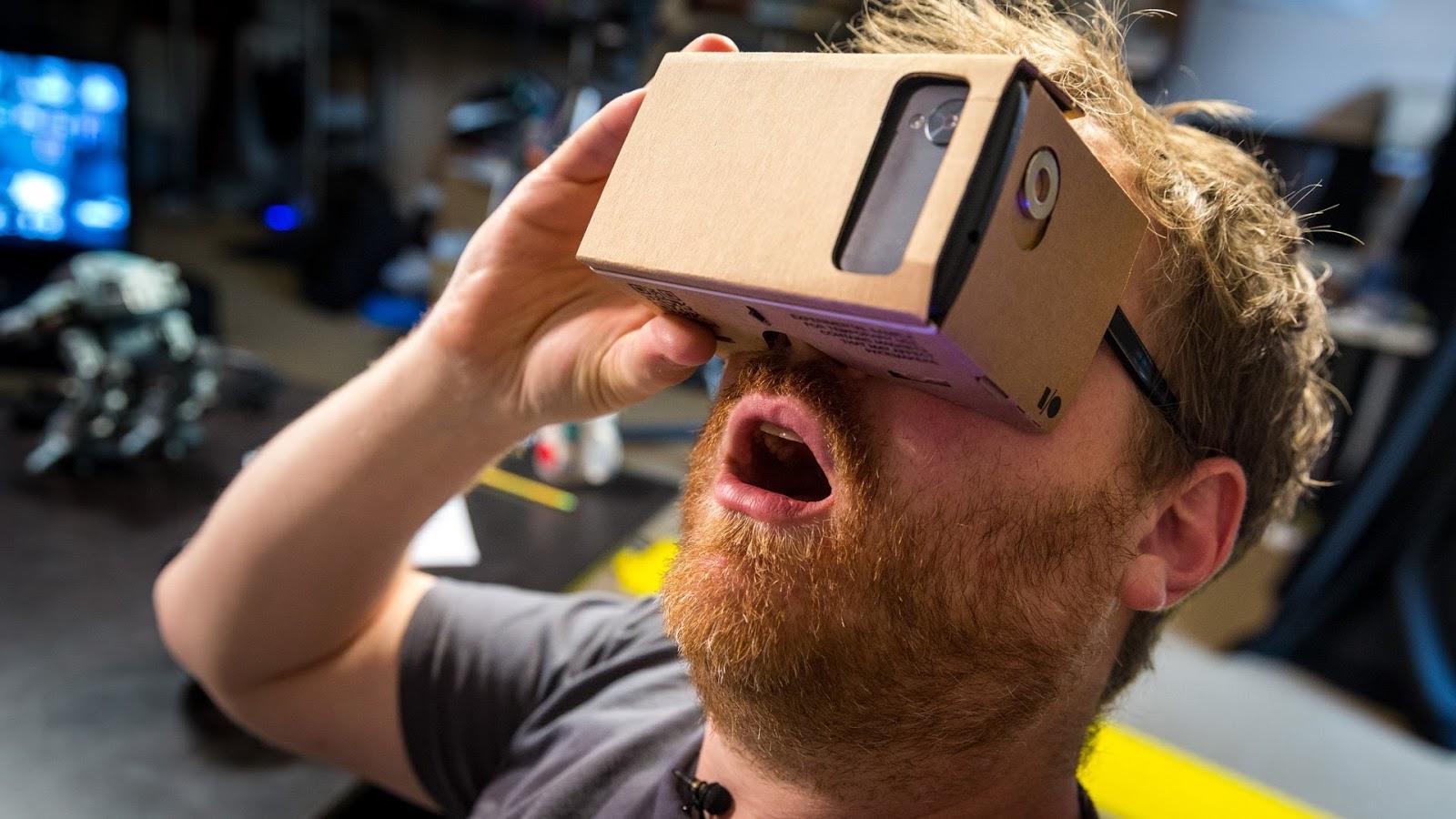 VR mobile apps