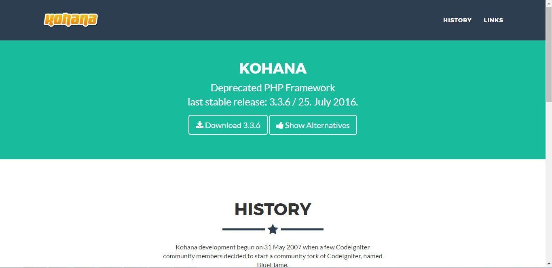 15 Top PHP Frameworks For Startups   2019