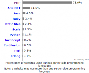 Growth of PHP web development