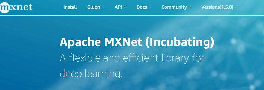 MXNet machine learning framework