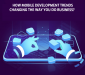 mobile development trends infographic