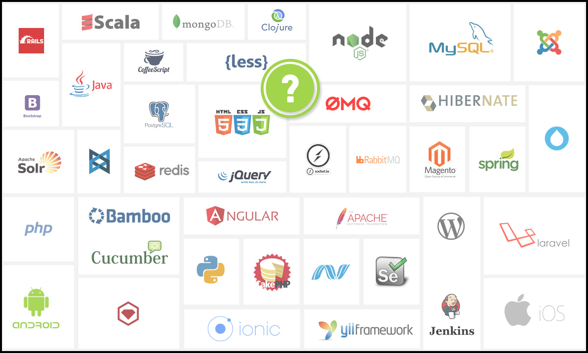 web technology stack