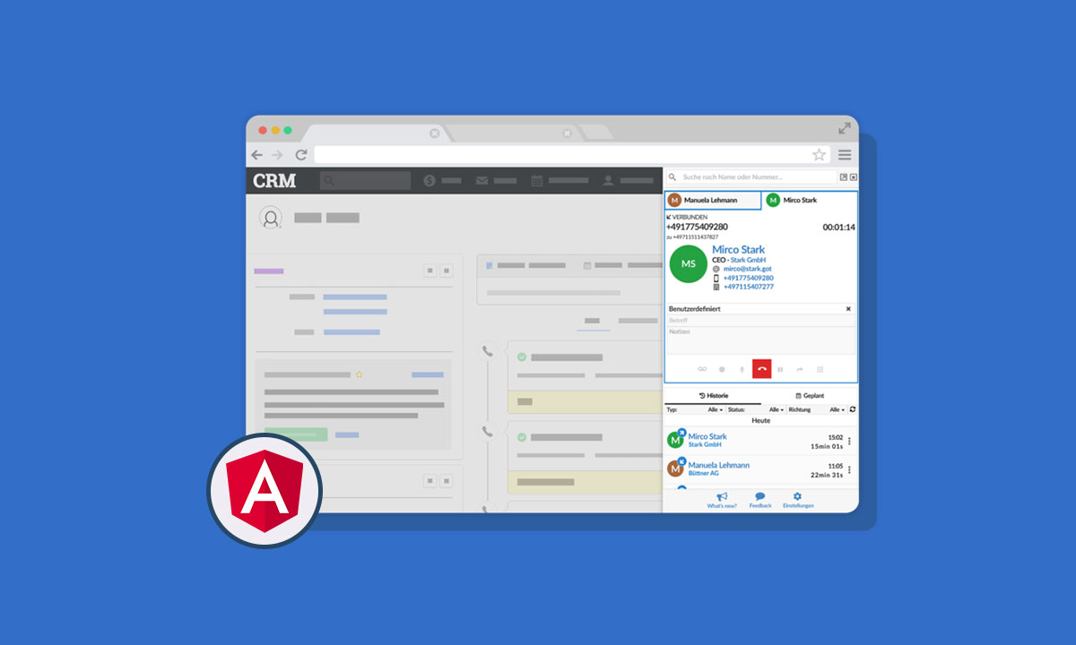 CRM Application | Angular Development | App Development