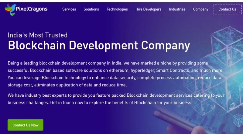 pixelcrayons-blockchain-technology-companies