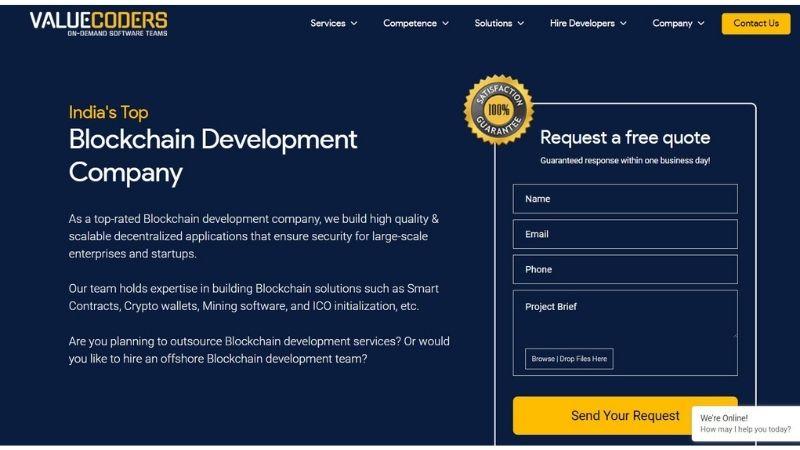 valuecoders-blockchain-technology-companies