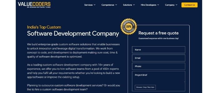 valuecoders-custom-software-development-company