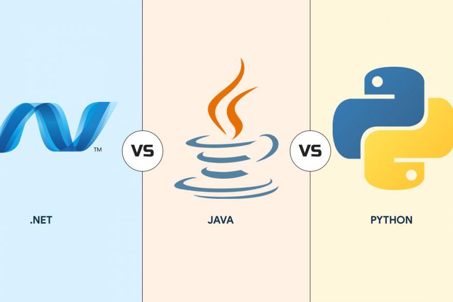 .net vs java vs python