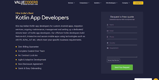 Hire Top Kotlin Apps Developers, Remote Kotlin App Programmers India, Hire Dedicated Kotlin app programmers
