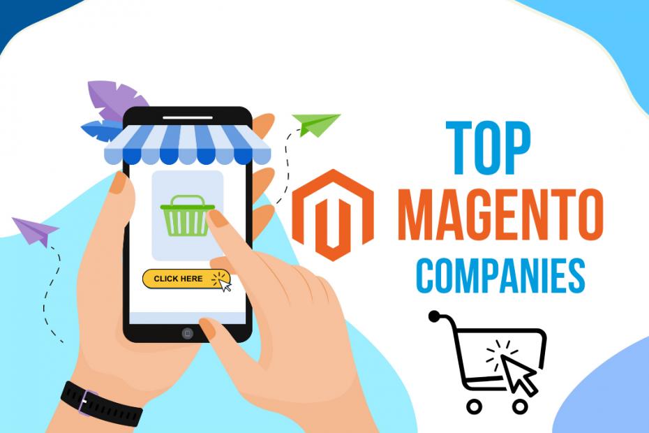 top magento ecommerce companies india
