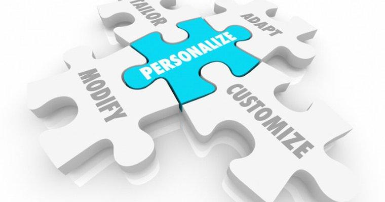 Customer personalization