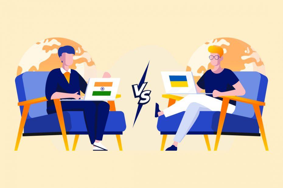 India vs Ukraine software developers, Ukraine vs India software developers, India or Ukraine for developers, Ukraine or India for hiring developers, hire software developers from India or Ukraine