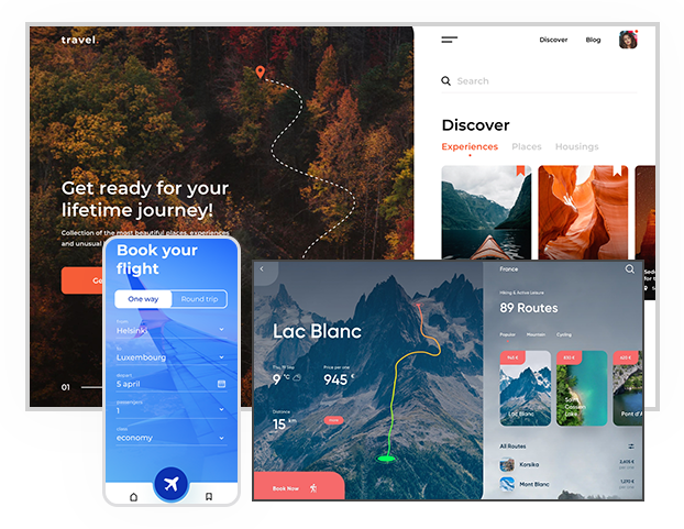Travel App Development Solutions